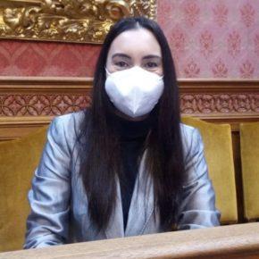 """Beatriz Camiña: """"Si no se acata el mandato del pleno de cesar a Sofía Alonso, instaremos a Cladera a que presente una cuestión de confianza"""""""
