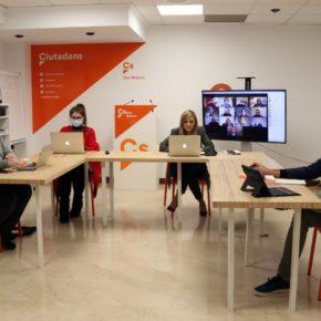 El Comité Autonómico de Cs Baleares se reúne para poner en marcha el plan de acción y la estrategia política para alcanzar sus objetivos hasta los próximos comicios