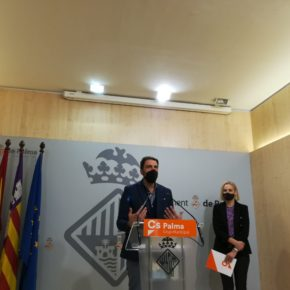 Cs Palma consigue el compromiso del Ayuntamiento para limpiar las inmediaciones del Torrent Gros
