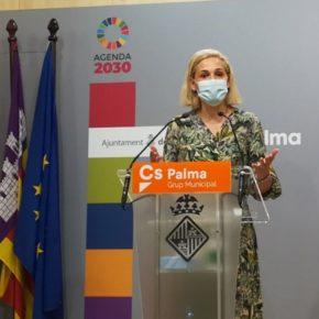 Cs Palma reclama una actuación conjunta entre administraciones para evitar los botellones masivos en la Playa de Palma