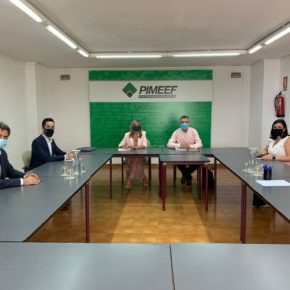 Cs Baleares se reúnen con la PIMEEF para escuchar las necesidades de las pymes y autónomos de Ibiza